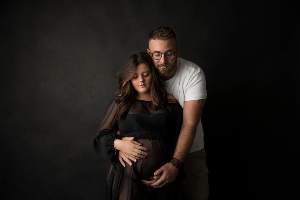 Fotografo Neonati Prato e Fotografo Gravidanza Prato: Rebecca, Alessio e la piccola Aurora