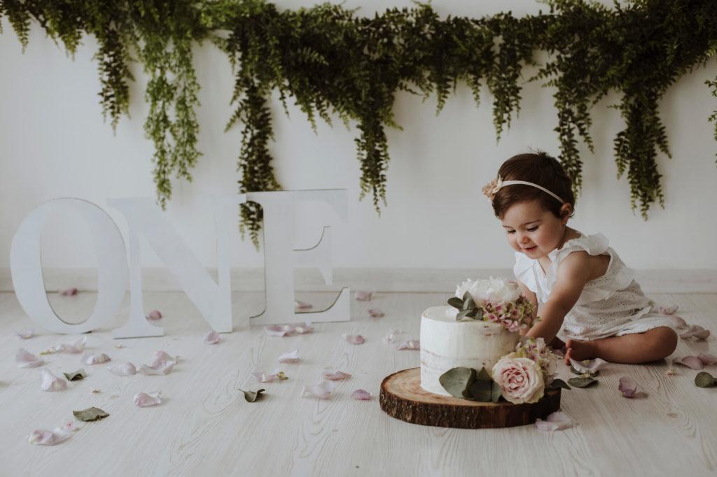 Fotografo Bambini Pistoia Smash Cake - Ecrù Fotografie