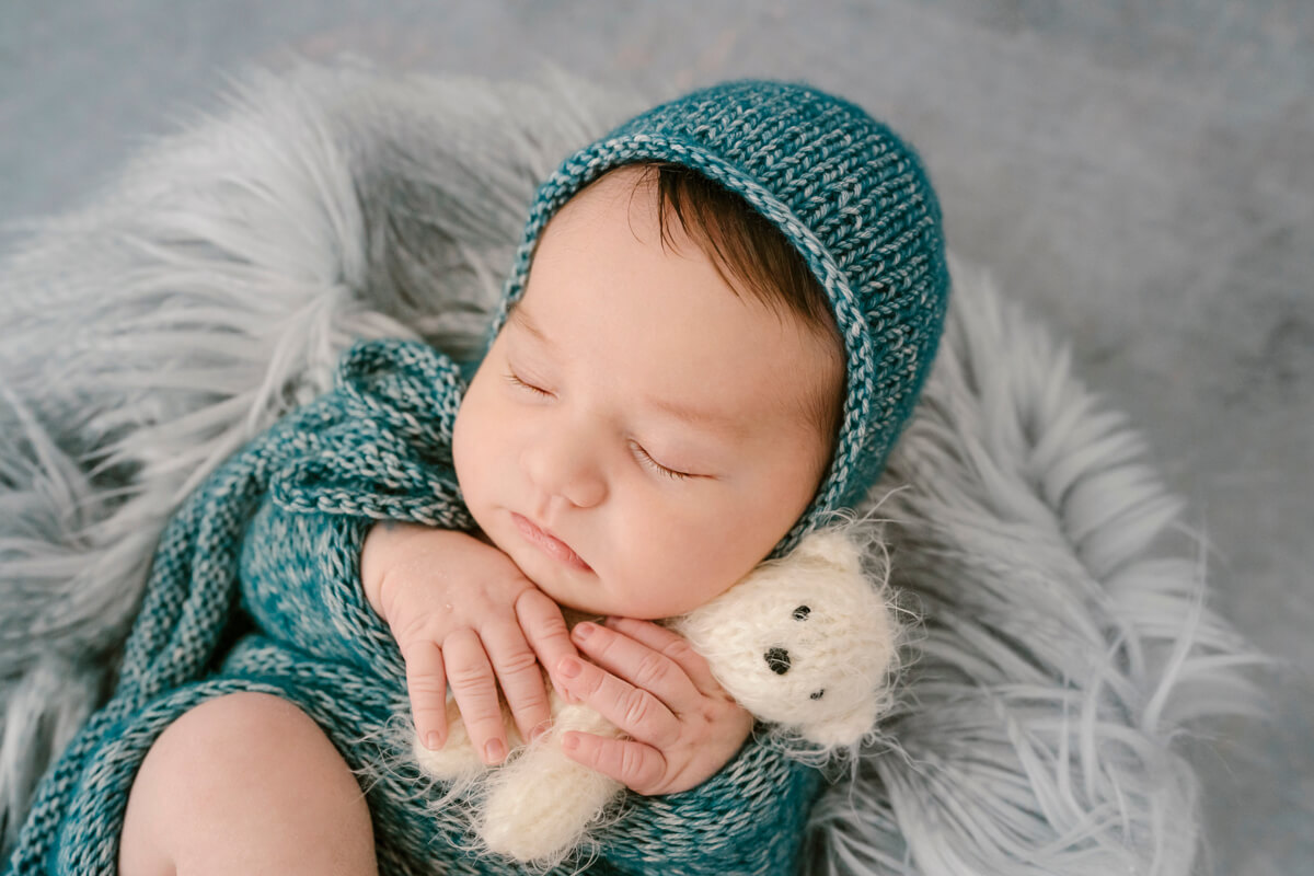 Ecrù Fotografie - Fotografo Newborn Toscana: Aligi