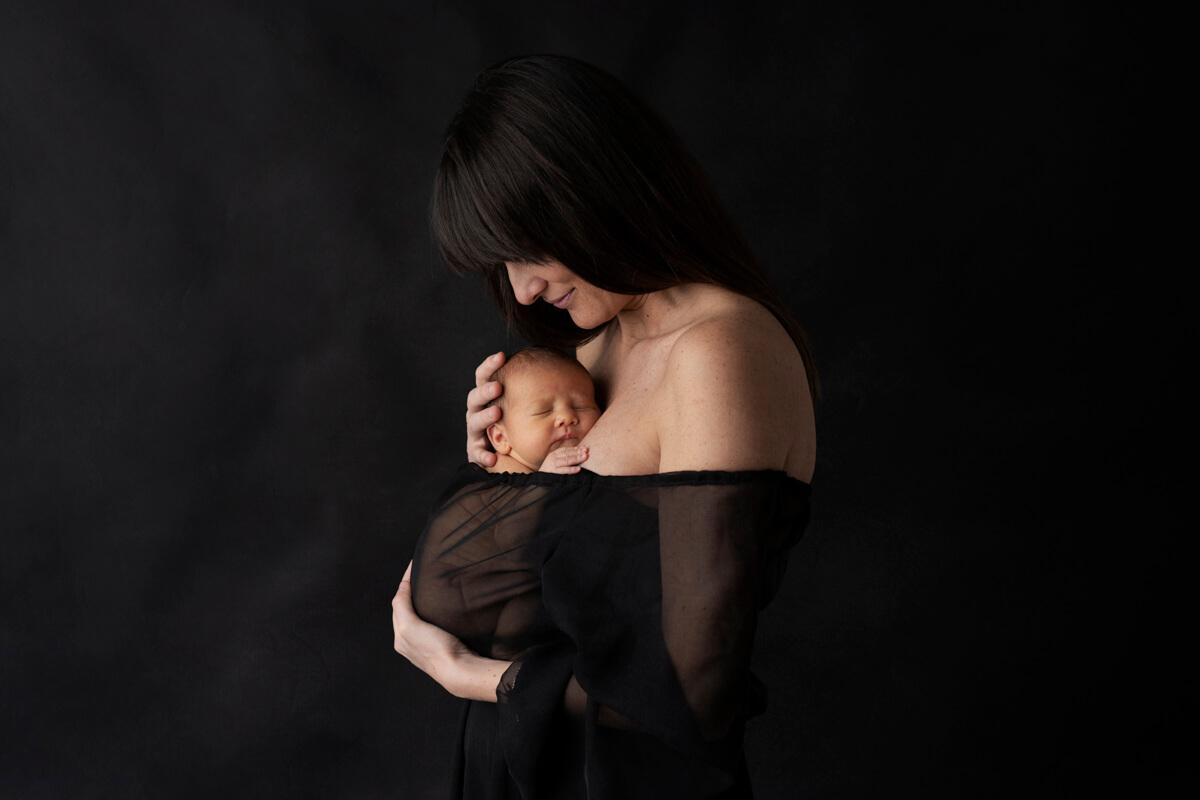 Giorgia, Fabio e la piccola Mia: Fotografo Neonati Firenze