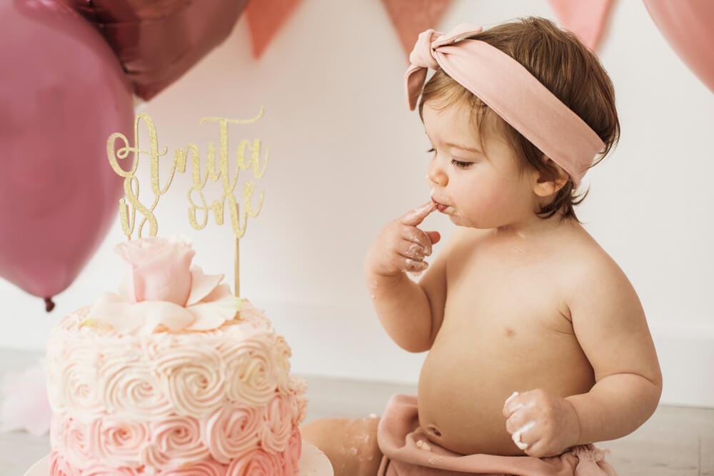 Fotografo Primo Compleanno Monsummano Terme con Smash Cake